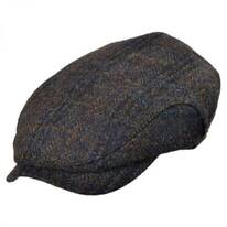 Melange Harris Tweed Wool Earflap Ivy Cap